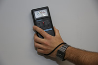 Termite Inspection with a Moisture Meter on the Gold Coast