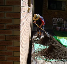 Termite Protection - Chemical Barrier Installation